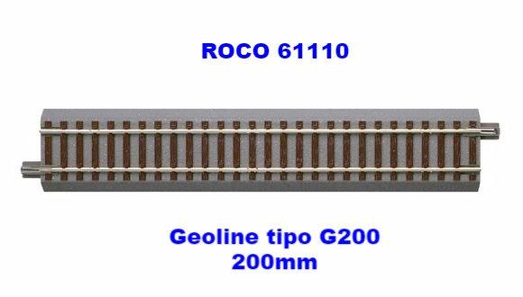 ROCO 61110, Recta Geoline tipo G200