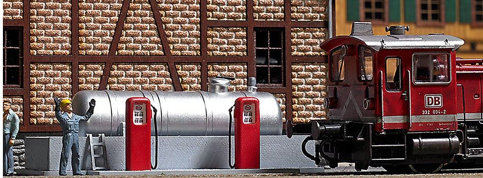 Busch 1158,  Estación de combustible de locomotoras diésel