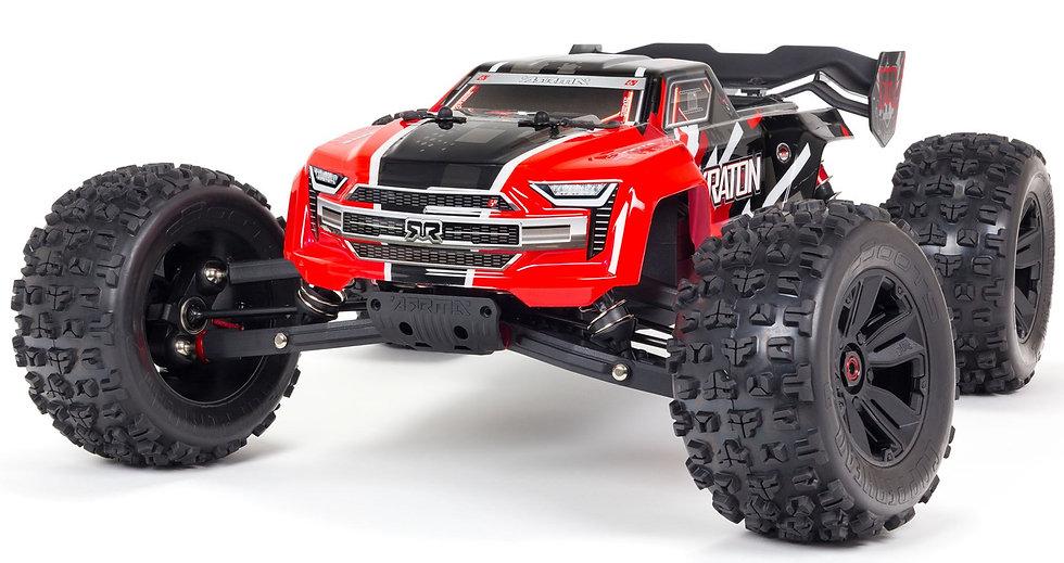 ARA8608V5T1, 1/8 KRATON 6S V5 4WD BLX Speed Monster Tr. con Spektrum Firma RTR