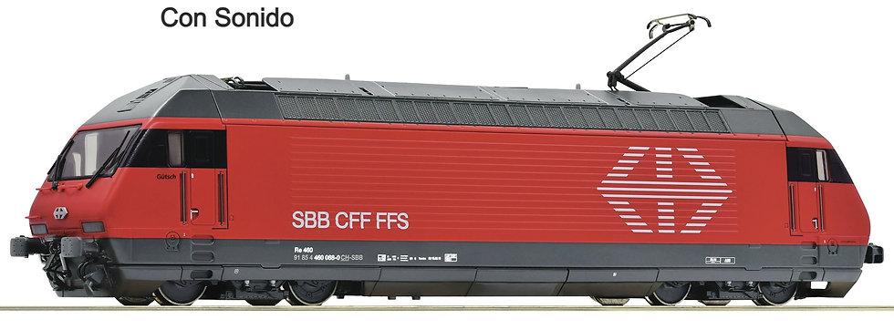 Roco 70661, Locomotora eléctrica 460 068-0, SBB, época VI [DCC + SONIDO]