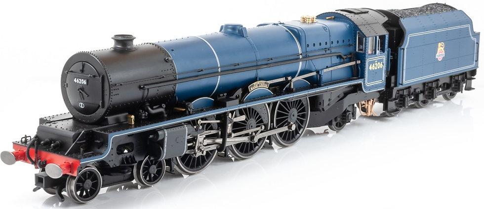 Hornby R3711, Locomotora 4-6-2, 46206 'Princess Marie Louise'