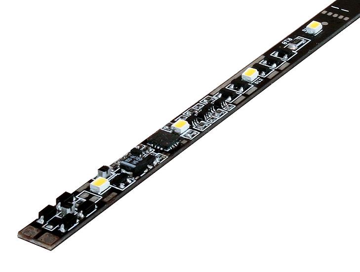 Digikeijs DR80010GOLD , Barra de LED blanco cálido DIGITAL DCC