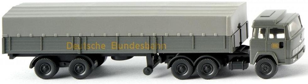 """Wiking 095610, Camión trailer plano Magirus """"DB"""""""