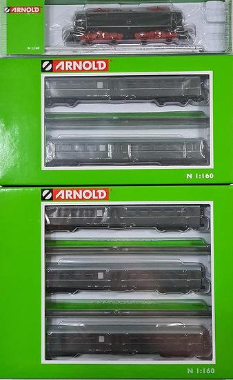 Set Arnold HN1014, Locomotora eléctrica E11 de la DR Deutsche Reichsbahn