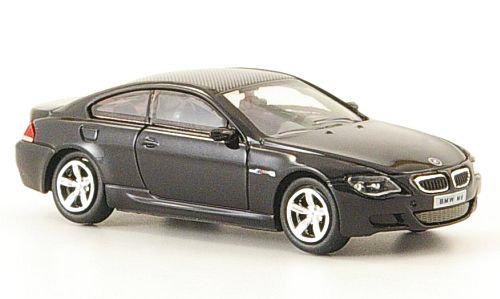 Brekina Rik38572, BMW M6, negro, 2006
