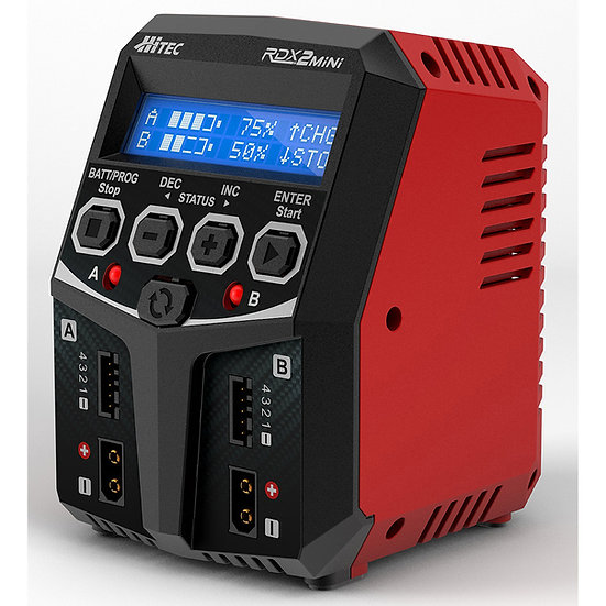 Hitec HRC44299, RDX2 Mini AC Balance Charger