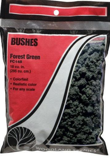 Woodland Scenics FC148, Bushes (arbustos) verde bosque