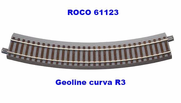 ROCO 61123, Curva Geoline tipo R3