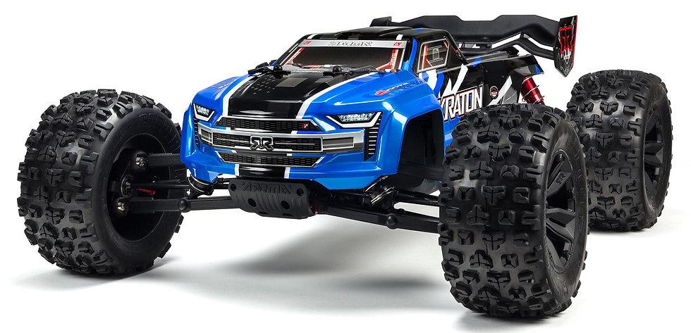 ARA8608V5T2, 1/8 KRATON 6S V5 4WD BLX Speed Monster Tr. con Spektrum Firma RTR