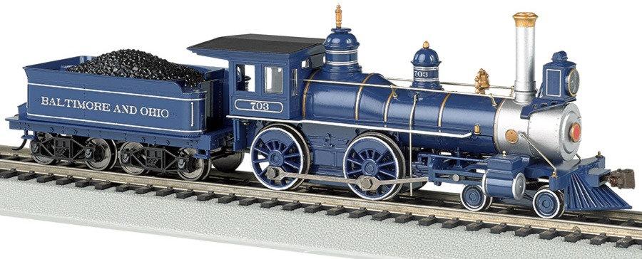 Bachmann 52703. Locomotora vapor, 4-4-0  B&O [SOUND VALUE]