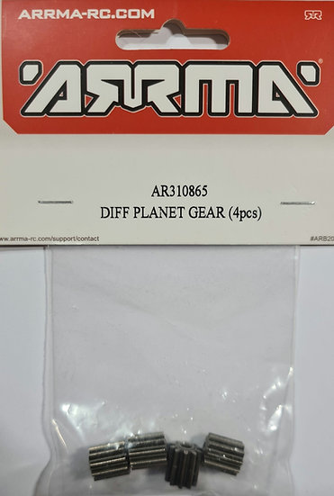 Arrma AR310865, Diff planet gear (6 pcs)