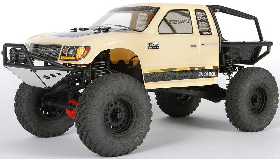 AXID9059, 1/10 SCX10 II Trail Honcho 4WD Rock Crawler Brushed RTR
