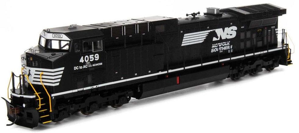 ATHEARN RND77707, Locomotora AC4400CW NS Black #4059