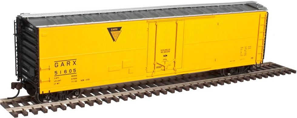 "Atlas 3535, box car 50' tipo ""reefer"", GARX"