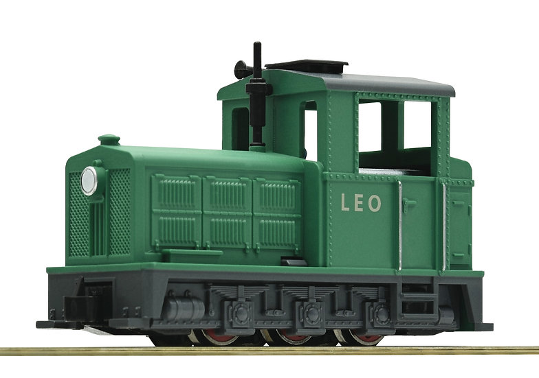"ROCO HOe 33209. Locomotora diésel ""Leo"", trocha angosta."