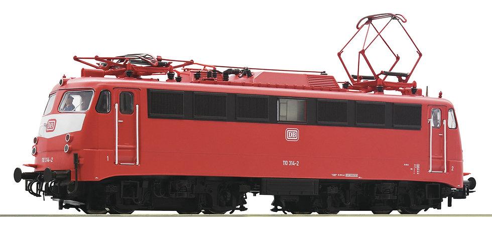 Roco 73072, Locomotora eléctrica BR 110, DB, Ép IV-V
