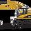 Thumbnail: DCM 85177 CAT  M318D Excavadora sobre ruedas