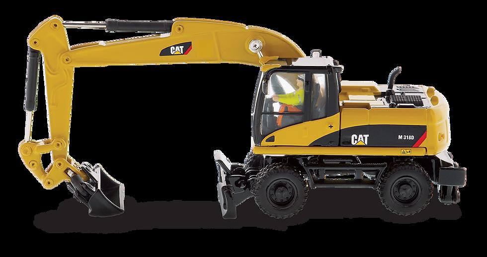 DCM 85177 CAT  M318D Excavadora sobre ruedas