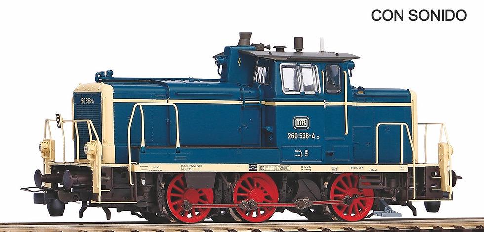 Piko 55901, Locomotora diésel BR260, DB, época IV [Digital AC + SONIDO]