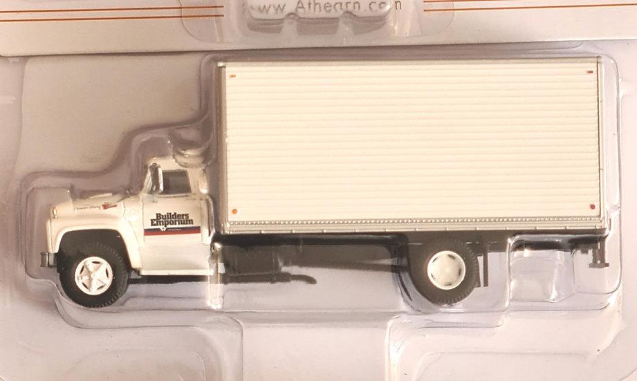 Athearn ATH96592,  Ford F-850 Box Van Builders Emporium