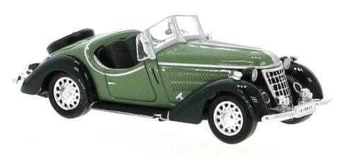Brekina Rik38349, Wanderer W25K Roadster, verde, 1936
