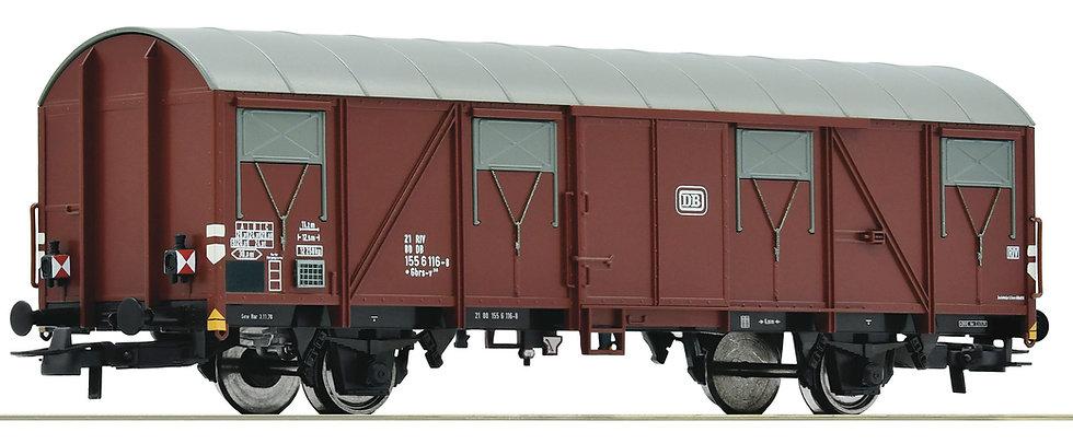 Roco 76615, Vagón plano de mercancías con luz roja, época IV