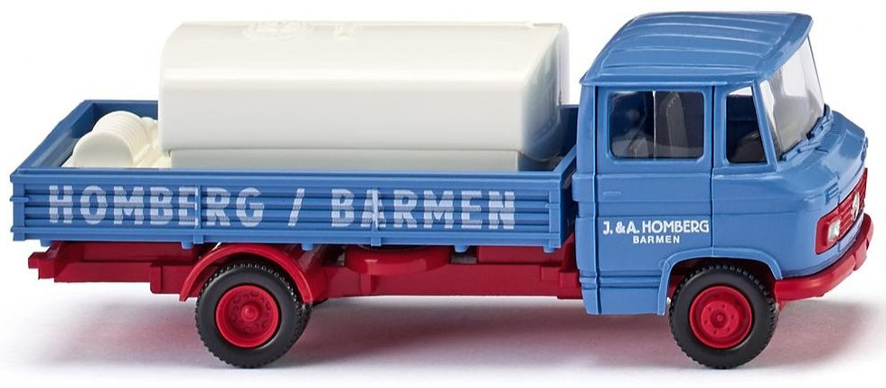 """Wiking 027102,  MB L 408 """"Homberg"""" (1967-1971)"""