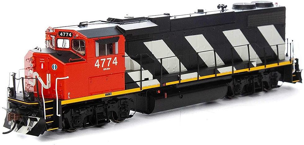 ATHEARN GENESIS ATHG65392, Locomotora GP38-2(W) GMD, CN #4774