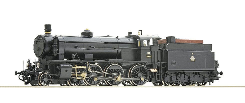 Roco 72108, Locomotora de vapor clase 209, BBÖ