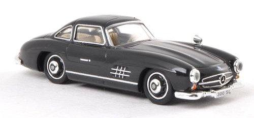 Brekina Rik38594, Mercedes 300 SL (W198), negro