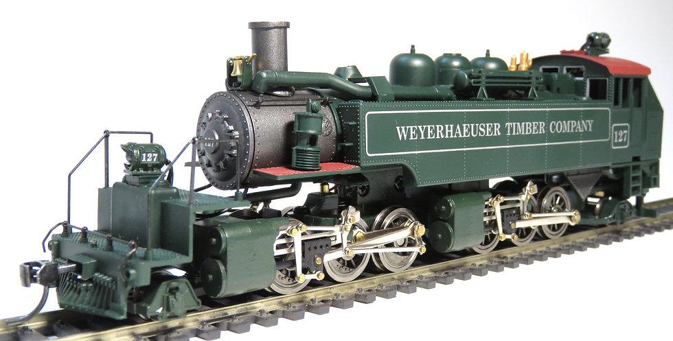 Mantua 351600, Locomotora 2-6-6-2T Weyerhaeuser Timber Company [DCC con SONIDO]