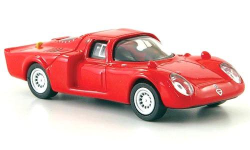 Brekina Rik38343, Alfa Romeo 33.2 Daytona, rojo, 1968