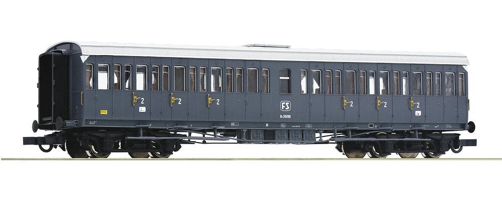 Roco 64984, Coche 2° clase  italiano, FS, época IV