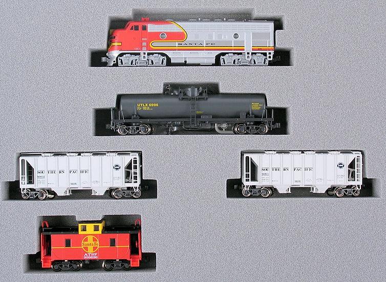 Kato 1066271, set tren de carga EMD F7 Santa Fe, DC