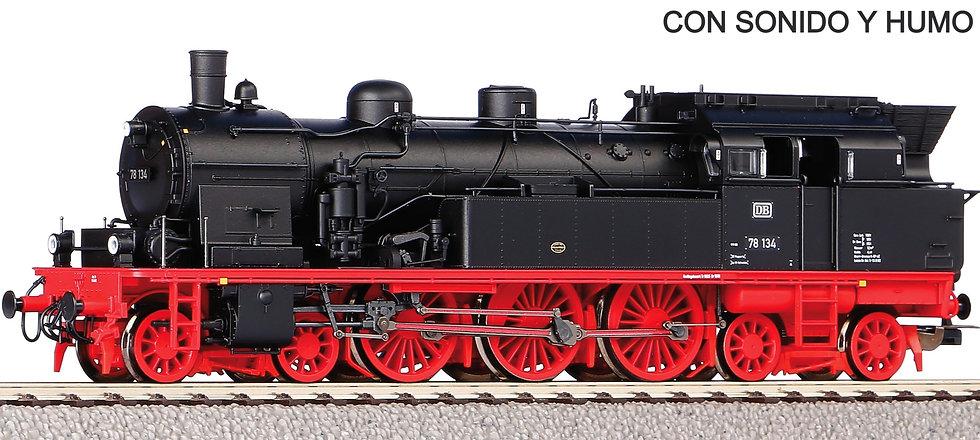 Piko 50603, Locomotora a vapor BR78, DB, época IV [Digital AC + SONIDO + HUMO]