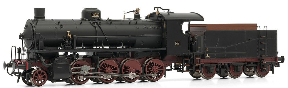 Rivarossi HR2483, Locomotora a vapor Gr. 740 696 FS, época III
