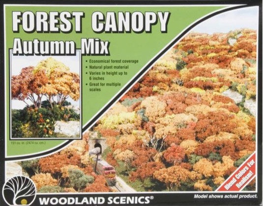 Woodland WOOF1663, Forest Canopy, Autumn Mix