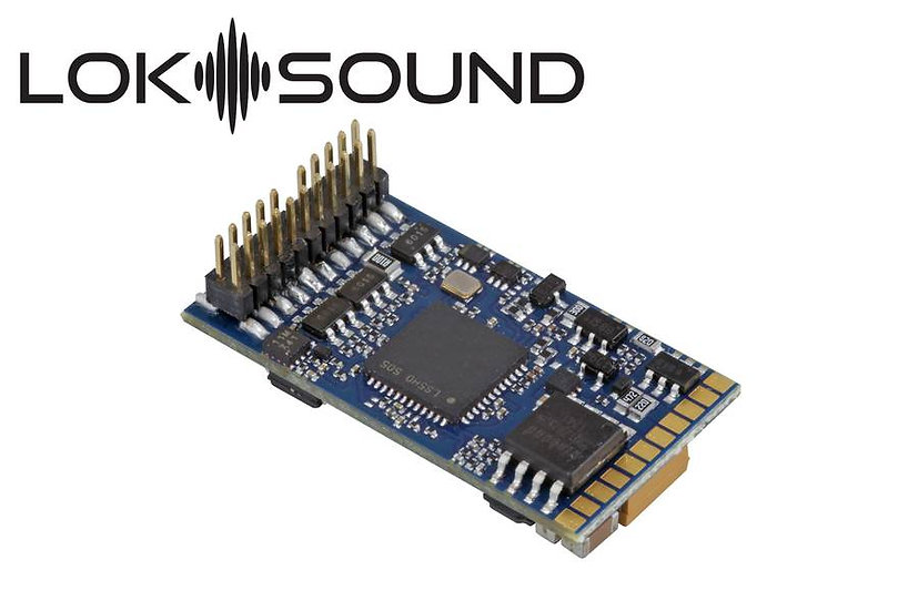 ESU 58412, LokSound 5 DCC/MM/SX/M4, PluX22, con parlante 11x15mm