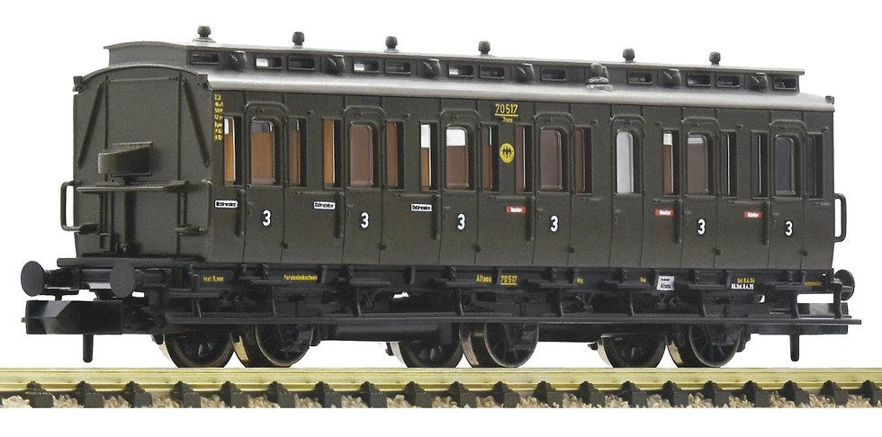 FLEISCHMANN 807006. Abteilwagen  3. Klasse, DRG
