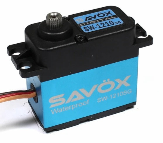 Servo SAVOX SW1210SG, Waterproof High Voltage Digital Servo, 0,13 seg/32kg @7.4V
