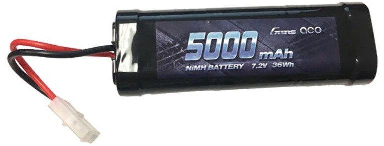 GEANM50006ST, 7,2V 5000mAh NiMH: conector TAMIYA