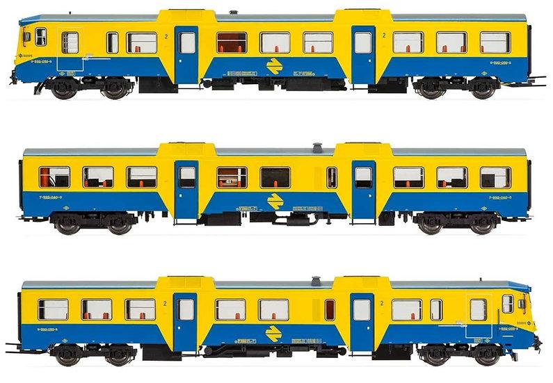 Electrotren E3421, Automotor RENFE  DMU clase 592, época IV
