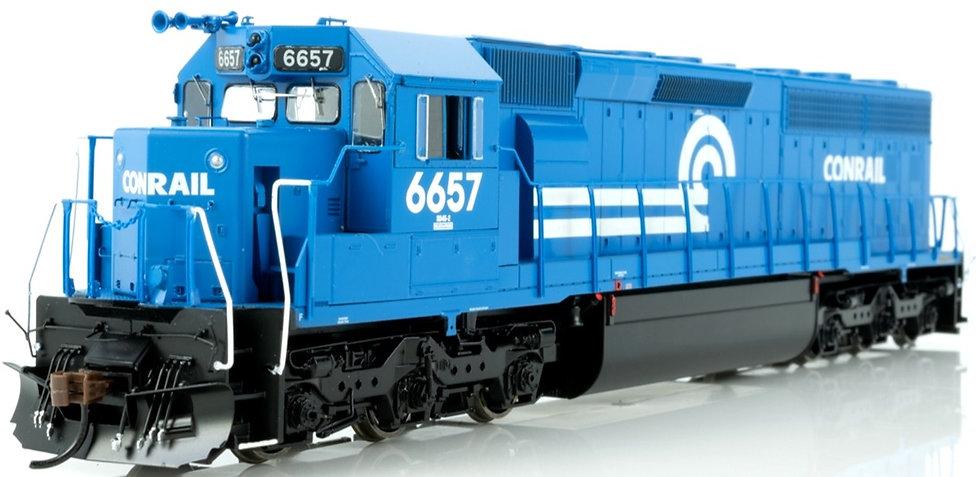 ATHEARN GENESIS 86126. Loc diésel SD45-2, CR/Blue Early #6665