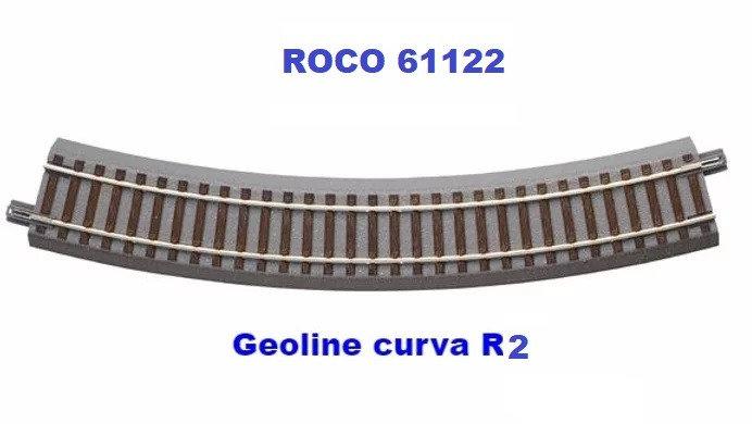ROCO 61122, Curva Geoline tipo R2