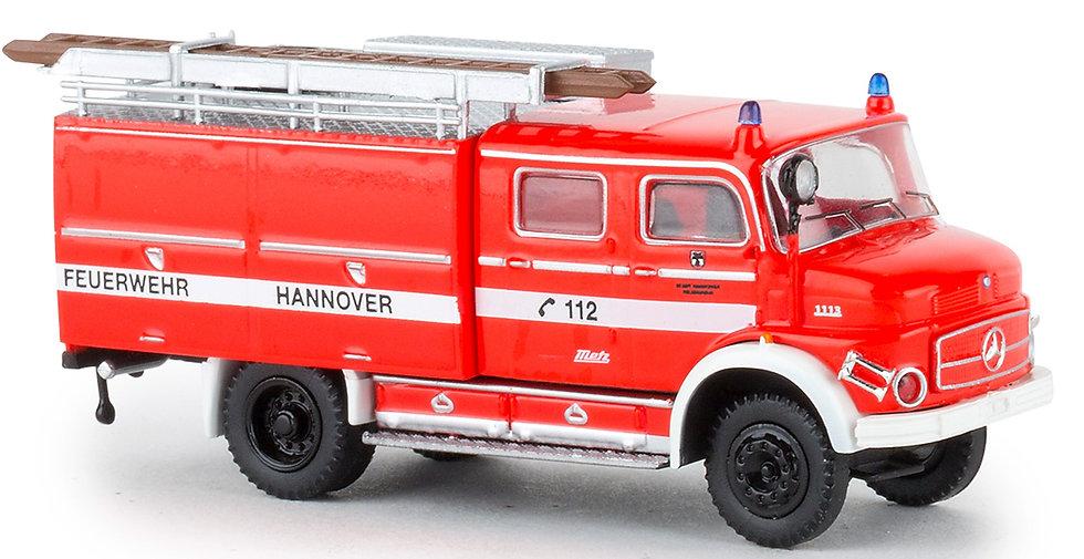 BREKINA 47165, Mercedes LAF 1113 TLF 16, Berufsfeuerwehr Hannover, 1972