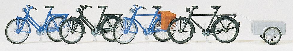 Scene Master 4124, Kit para armar4 bicicletas (HO)