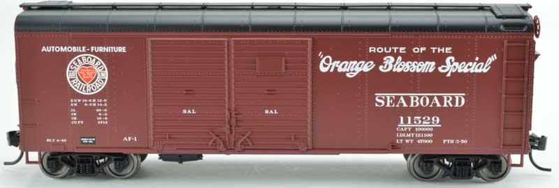 Bowser 42328, Boxcar Seaboard Orange Blossom Double Door Flush