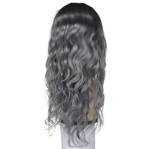 Remy Sultry Grey Front Lace Wig