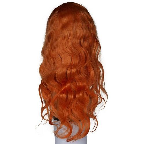 Remy Orange Front Lace Wig