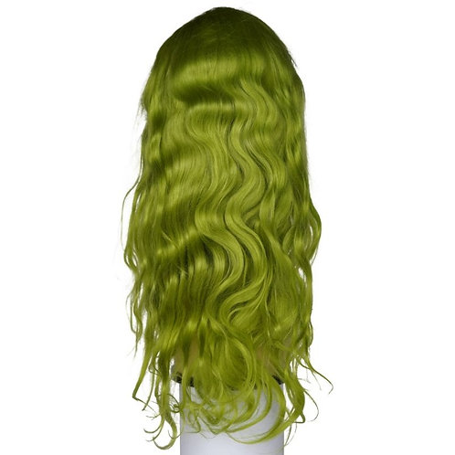 Remy Emerald Green Front Lace Wig